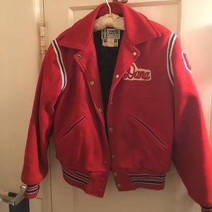 Jackets & Blazers - Vintage Women's 1980s Letterman/Sports Jacket